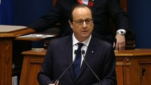 Discours devant le Parlement québécois à Québec