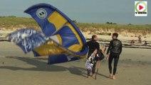 Landéda: Session Kitesurf et Windsurf - Bretagne Télé