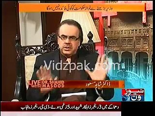 You can buy all Punjab Assembly Members if you have 4 to 5 Billions :- Dr.Shahid Masood