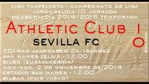 Jor.10: Athletic 1 - Sevilla FC 0 (2/11/14)