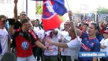 Les supporters toulonnais aux anges après la victoire du RCT (61-28) face à Grenoble