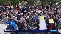 Hommage à Rémi Fraisse : un sit-in pacifique à Paris