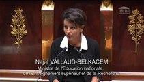 [ARCHIVE] Projet de loi de finances 2015 : discours de Najat Vallaud-Belkacem à l'Assemblée nationale, jeudi 30 octobre 2014