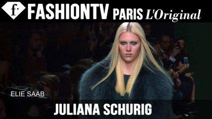 Juliana Schurig Model Talk | Fall/Winter 2014-15 | FashionTV