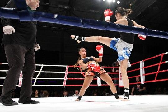 Girl Power Kickboxing 8-Woman Tournament