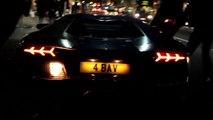 Une Lamborghini Aventador prend feu en plein Londres