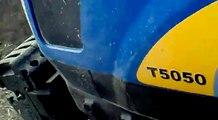 NewHolland T5050 WS NewHolland TD100D - Tarım Günlükleri