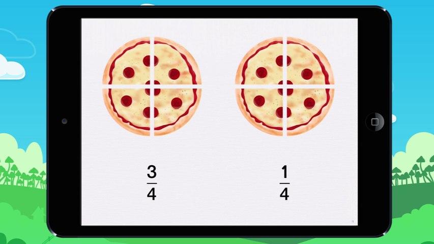 Comparer des fractions - vidéo 1
