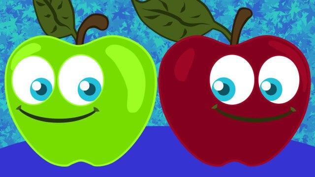 Pomme de Reinette et Pomme d'Api  -  comptines et chansons classiques