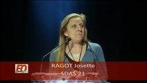 FO ACTION SOCIALE intervention de Josette RAGOT du sdas 21au congres confederal de Montpellier 2011