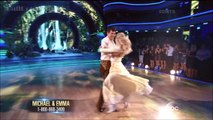 Michael Waltrip & Emma - Foxtrot - DWTS 19 (Week 8)