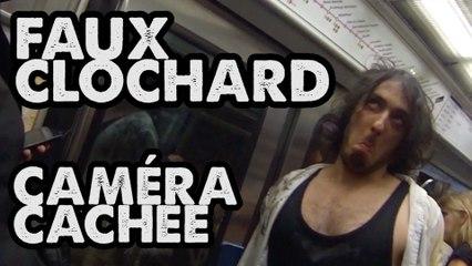FAUX CLOCHARD EN CAMÉRA CACHÉE