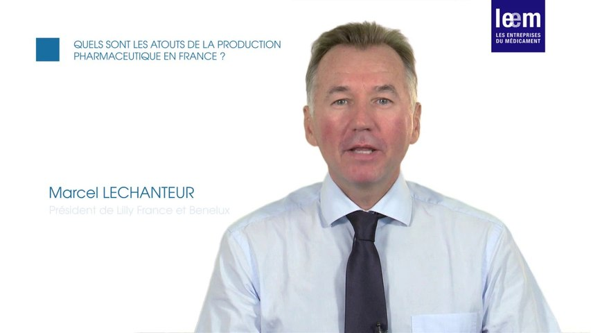 Les atouts de la production pharma en France