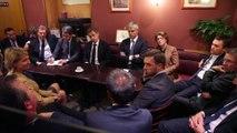 Les maires UMP échangent avec Nicolas Sarkozy à Paris