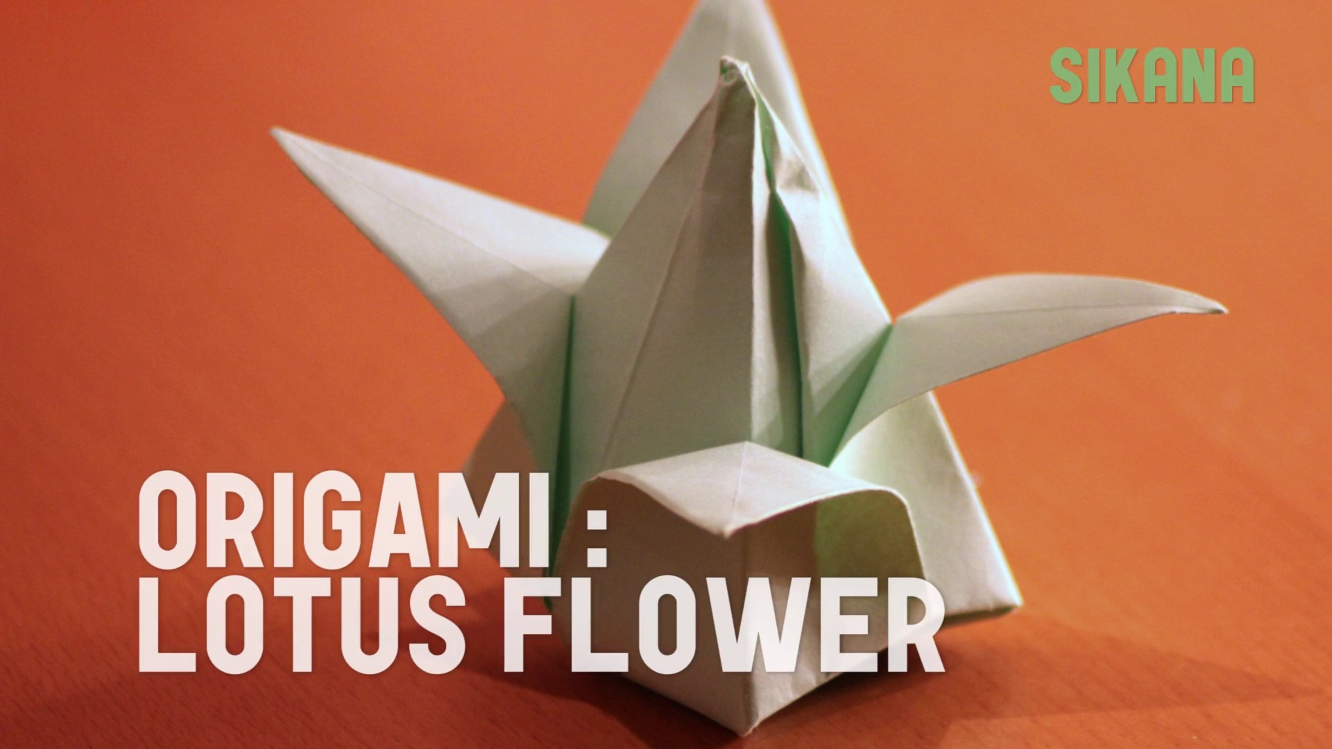 Origami Lotus Flower Tutorial | Origami lotus flower, Lotus ... | 1080x1920