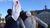 Les jeunes agriculteurs manifestent à Paixhans