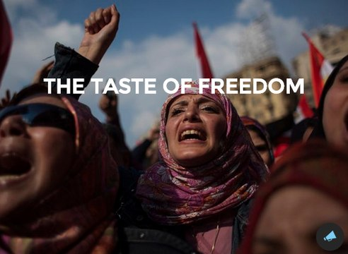 The Taste of Freedom main characters Interview