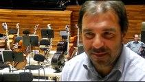 Interview de Daniele Gatti, directeur musical de l'ONF dans l'Auditorium de la Maison de la Radio