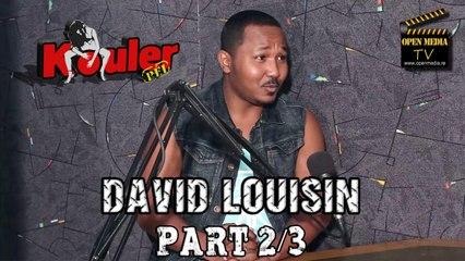 Kouler Pei - David Louisin - Novembre 2014 - Part 2/3