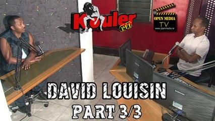Kouler Pei - David Louisin - Novembre 2014 - Part 3/3
