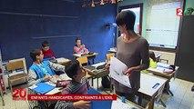 Les enfants handicapés français scolarisés en Belgique partent en taxis