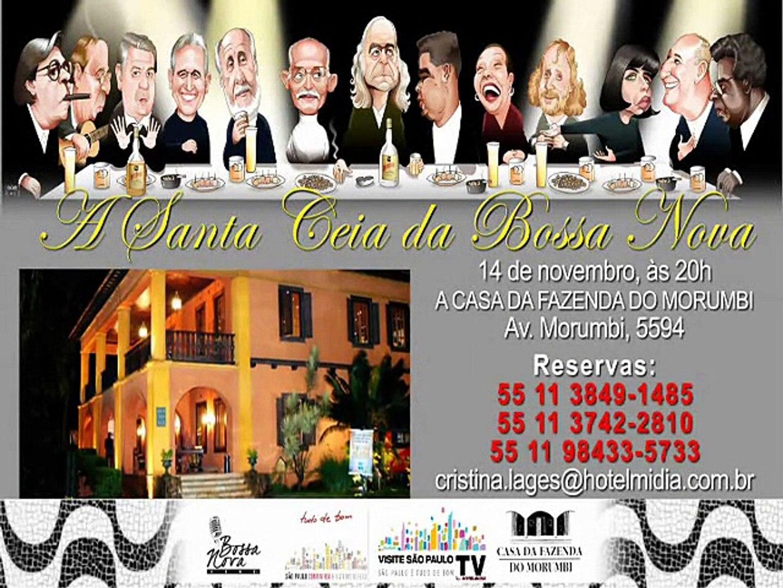 Convite - A Santa Ceia Da Bossa Nova - José Boto - Participação Confirmada.
