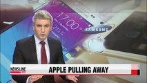 Samsung Electronics Q3 operating profit margin stands far behind Apple