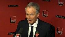 """Tony Blair : """"Je suis très optimiste pour la France, c'est un peuple extraordinaire"""""""