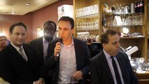 Rencontre avec Roger KAROUTCHI pour soutenir Nicolas SARKOZY - intervention de Nicolas Flament