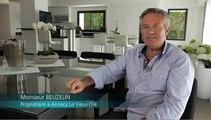 Témoignage client Atlantic : M. BEUZELIN - Remplacement d'une vieille chaudière fioul par une Pompe à chaleur ALFEA EXCELLIA DUO (Annecy septembre 2014)