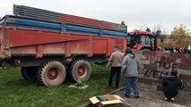 Marne. Les agriculteurs déversent du fumier