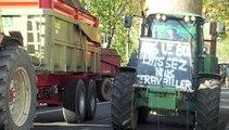 Beauvais : Face à face musclé entre agriculteurs et gendarmes