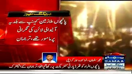 Mistaken For Dacoits, Mob Thrashes Karachi Electric Workers