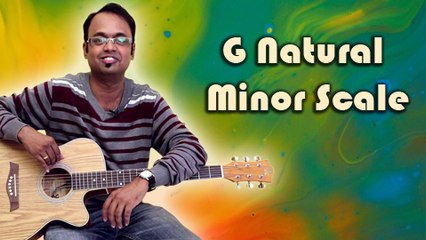 How To Play - G Natural Minor Scale - Guitar Lesson For Beginners