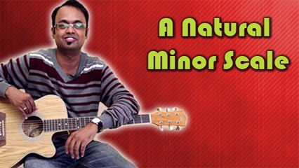 How To Play - A Natural Minor Scale - Guitar Lesson For Beginners