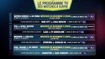PSG-APOEL, Bayern-Roma, Man City-CSKA... Le programme TV des matches de Ligue des Champions du jour !