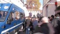 Incidents à la manifestation des agriculteurs à Beauvais