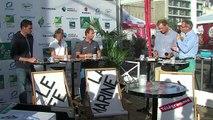 Le Café de la Marine du Télégramme. Spécial Route du Rhum du 27 octobre 2014.