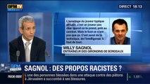 BFM Story: Les propos de Willy Sagnol sur les joueurs africains sont-ils racistes? - 05/11