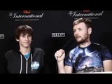 Pre-tournament interview with Dendi @ The International (With ENG subs)