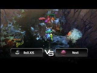 Ultra kill by Solo vs Next @ JoinDota League Europe
