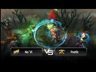 Na`Vi vs Fnatic highlights @ SLTV 9