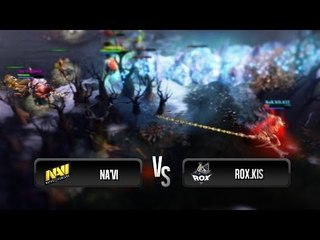 Highlights from Na'Vi vs RoX.KIS (Game 1) @ XMG Captains Draft Invitational