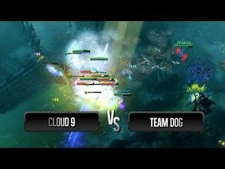 Team Wipe by Team Dog vs Cloud 9 @ DreamLeague Season 1