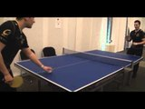 Pasha and Loord are playing table tennis (ping-pong) @ Copenhagen Games