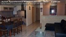 A vendre - appartement - ROMBAS (57120) - 3 pièces - 65m²