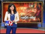 Bathing ghats busy with Lord Shiva devotees -Tv9