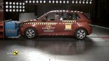 Yeni Skoda Fabia Euro Ncap çarpışma testi // ototest.tv