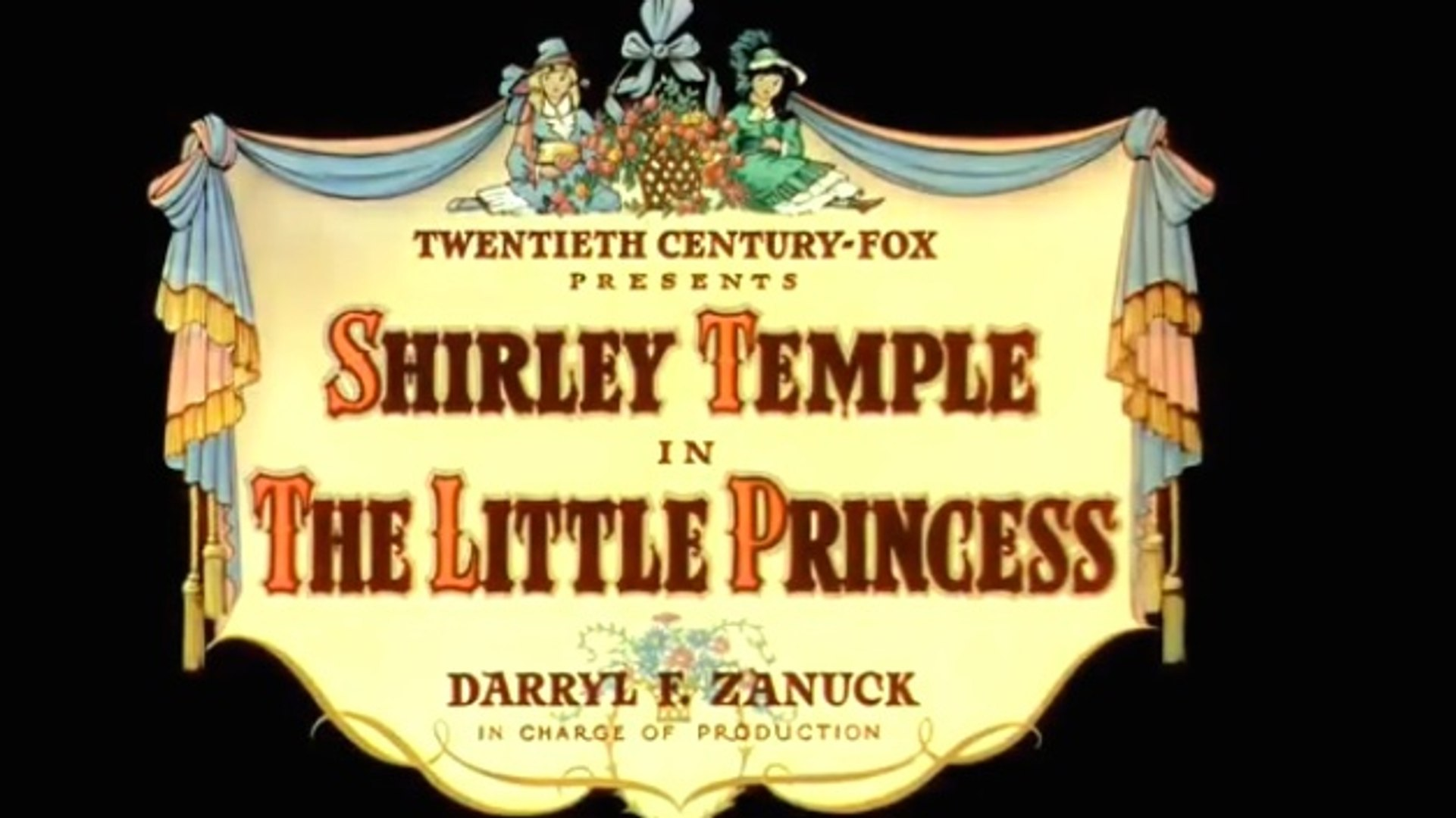 The Little Princess (1939) Shirley Temple, Richard Greene, Anita Louise.  Comedy | Drama | Family
