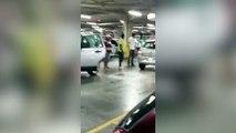 Il se fait voler sa place de parking et devient fou